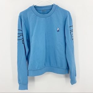 PE Nation Blue Crewneck Sweater Small
